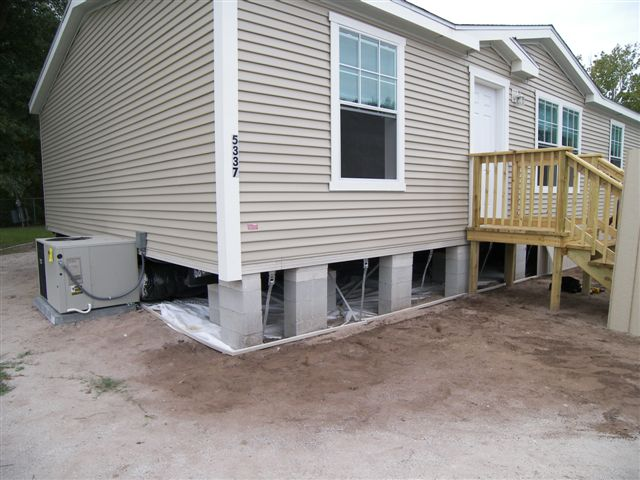 Mobile home skirting is a vital part of your homes protective defenses